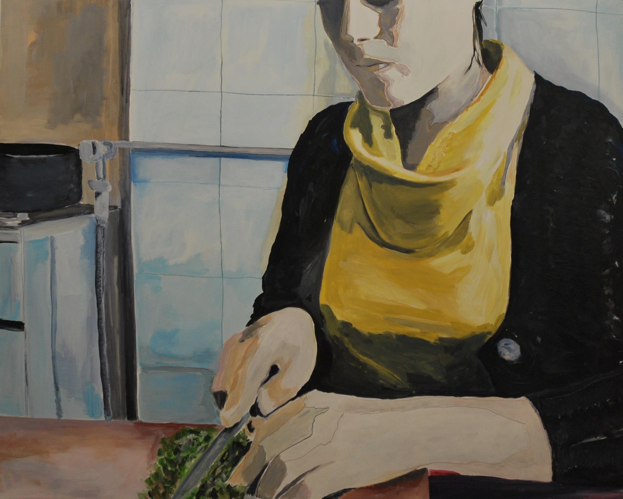 Nina in cucina