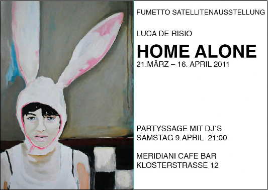 "Flyer Ausstellung ""Home alone"""
